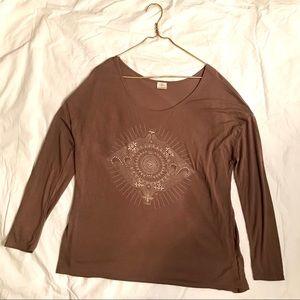 💜O'Neill Light Brown Long Sleeve